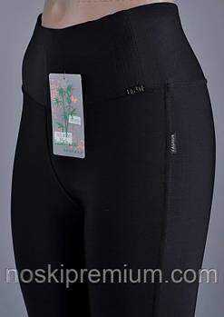 Лосины женские бамбук+микромасло Kenalin, размер XL-2XL (48-50), чёрные, 9506