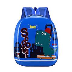Дитячий рюкзак з твердим корпусом Lesko DK-12 Dino для прогулянок