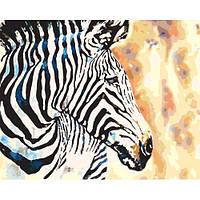 Набор в коробке, картина по номерам Краски саванны, 40*50 см., SANTI 953902