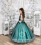 Пышное нарядное платье Камелия на 4-5, 6-7, 8-9 лет, фото 6