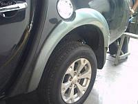 Расширители колесный арок Mitsubishi L200, фото 1