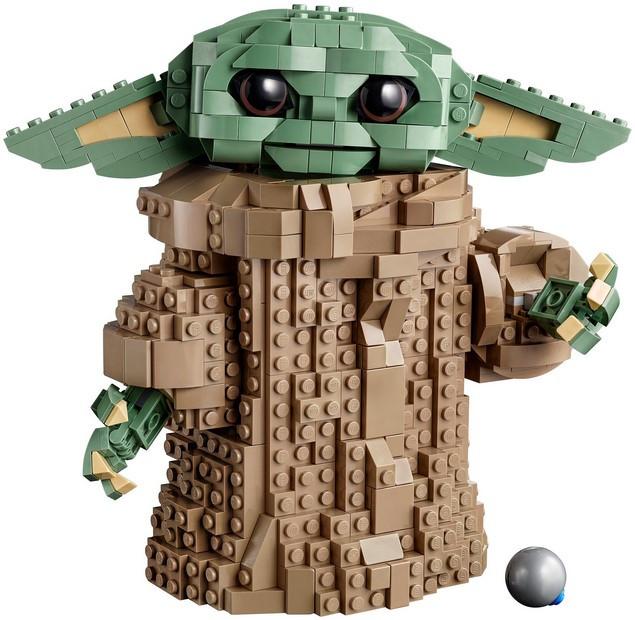 Лего 75318 Звездные войны Йода Малыш Lego Star Wars