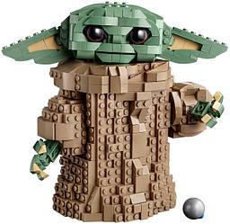 Лего 75318 Зоряні війни Йоду Малюк Lego Star Wars
