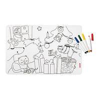 Набір з килимка-розмальовки та 4 маркерів 22609552 GUZZINI