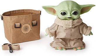 Малюк Йоду Грогу Плюшева Іграшка зі звуком Мандалорец Star Wars The Child The Mandalorian Yoda Baby HBX33
