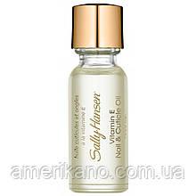 Масло для ногтей и кутикулы с витамином Е Sally Hansen Vitamin-E Nail & Cuticle Oil (США)