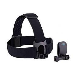 Крепление на голову с дополнительной клипсой GoPro Head Strap+QuickClip Mount (ACHOM-001)