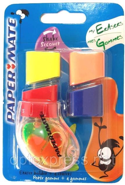 Тримач для гумки з кумедними кольоровими «живими» бульбашками торгової марки PAPER MATE