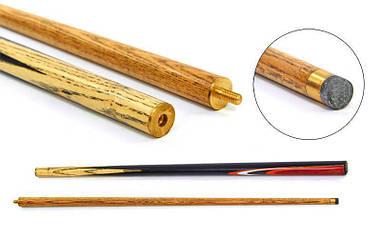 Разборной бильярдный кий для пула деревянный d-12мм l-145см KS-4631-45