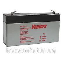 Акумуляторна батарея Ventura 6V 1,3 Ah (97*25*56)