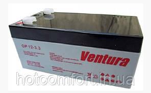 Акумуляторна батарея Ventura 12V 3,3 Ah (178*34*65мм)