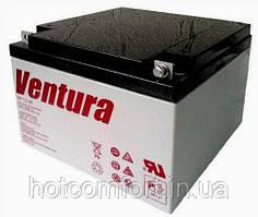 Акумуляторна батарея Ventura 12V 26Ah (175*166*125мм)