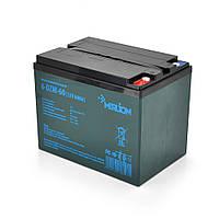Тягова акумуляторна батарея AGM MERLION 6-DZM-60, 12V 60Ah ( 265 x 168 x 215) Q1