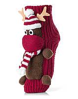 Женские детские носки ATTRACTIVE  3 D игрушка олененок