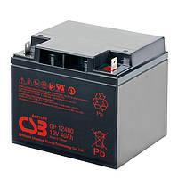 Акумуляторна батарея CSB GP12400, 12V 40Ah (197х166х170мм), Q1