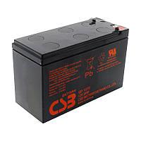 Акумуляторна батарея CSB GPL1272F2, 12V 7,2 Ah (151х65х100мм) 2,63 кг Q10