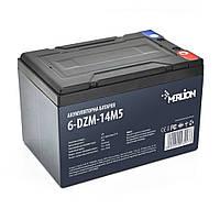 Тягова акумуляторна батарея AGM MERLION 6-DZM-14, 12V 14Ah M5 (151х98х104 мм) Q4