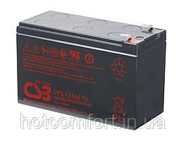 Акумуляторна батарея CSB UPS12580, 12V 10,5 Ah (151х65х99мм), Q10
