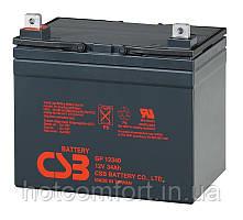 Акумуляторна батарея CSB GP12340, 12V 34Ah (195х130х155мм)