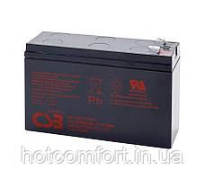 Акумуляторна батарея CSB HR1224WF2, 12V 6.5 AH (151х51х94мм) Q12