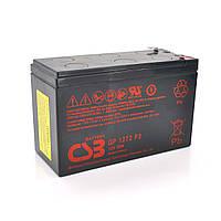 Акумуляторна батарея CSB GP1272F2, 12V 7,2 Ah (28W) (151х65х100мм) 2.1 кг Q10