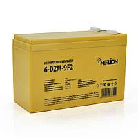 Тягова акумуляторна батарея AGM MERLION 6-DZM-9, 12V 9Ah F2, (150 x 65 x 95 (100) Q9