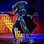 Фигурка Kenner Tribute Purple Alien Warrior 7″ Scale Figure (Alien Club Exclusive), фото 2