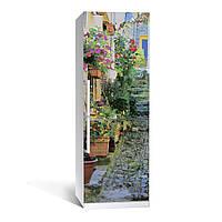 Наклейка на холодильник Zatarga Прованс 650х2000мм виниловая 3Д наклейка декор на кухню самоклеящаяся