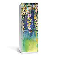Наклейка на холодильник Zatarga Цветение 650х2000мм виниловая 3Д наклейка декор на кухню самоклеящаяся