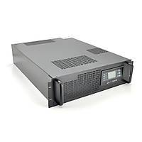 ДБЖ з правильною синусоїда ONLINE Ritar RT-10KL-LCD, RACK 10000VA (9000Вт), 192В, макс. Струм 5A, під зовнішній