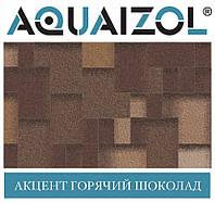 ОПТ - Акваізол ЕТАЛОН Акцент Гарячий шоколад Бітумна черепиця (3 м2/уп) (тільки Харків)