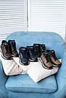 Подростковые кроссовки кожаные весна/осень черные высокие Road-style (37-41 разм), фото 2