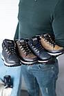 Подростковые кроссовки кожаные весна/осень черные высокие Road-style (37-41 разм), фото 3