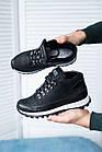 Подростковые кроссовки кожаные весна/осень черные высокие Road-style (37-41 разм), фото 5