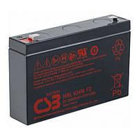 Акумуляторна батарея CSB HRL634WF2, 6V 9Ah (151х34х99мм Q10
