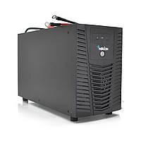 ИБП Merlion ARUN 1000 (600W) LED, 140-300VAC, AVR 1st, 4 SCHUKO, под внешний аккумулятор 12V, зарядка 10A,