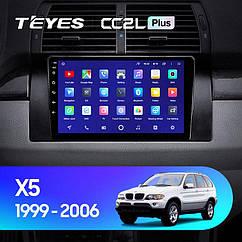 Штатная магнитола TEYES BMW X5 1999 - 2006 Android 10,