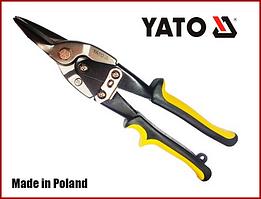 Ножницы по металлу 250 мм прямой рез Yato YT-1962