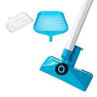 Набор насадок для очистки дна и верхнего слоя воды во всех видах бассейнов Intex Набор для чистки бассейна