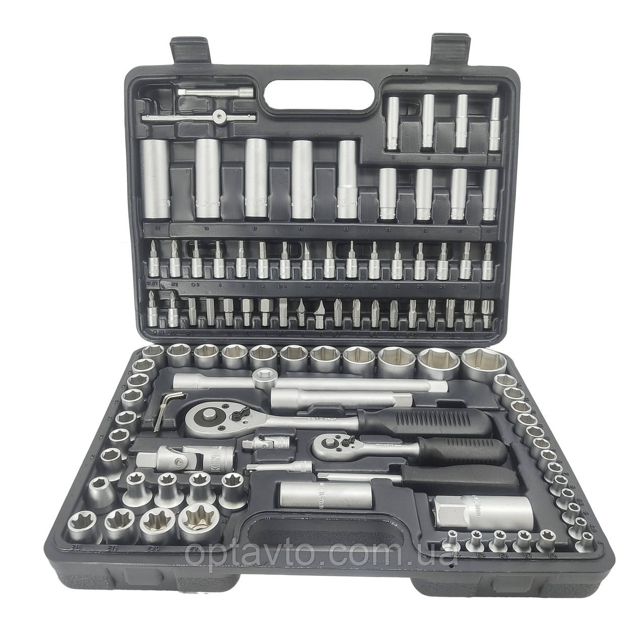 Качественный набор инструментов 108 предметов King STD KSD-108