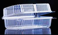 Коробка пластиковая А 130х230х83, (100 шт./бл., 600 шт./ящ.)