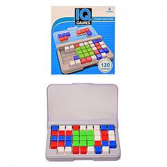 """Гра-головоломка """"IQ games"""" YF-209(Blue), від простого до складного, розвиток логіки"""