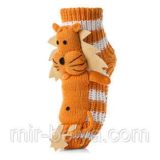 Женские детские носки ATTRACTIVE  3 D игрушка лев