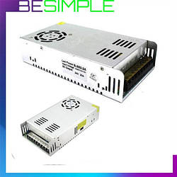 Блок живлення адаптер 24V 20A S-500-24 Metall