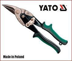 Ножницы по металлу 250 мм правый рез Yato YT-1961
