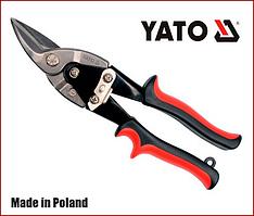 Ножницы по металлу 250 мм левый рез Yato YT-1960