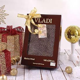 Вовняний Плед Vladi - Лілль 140*200 біл-кор