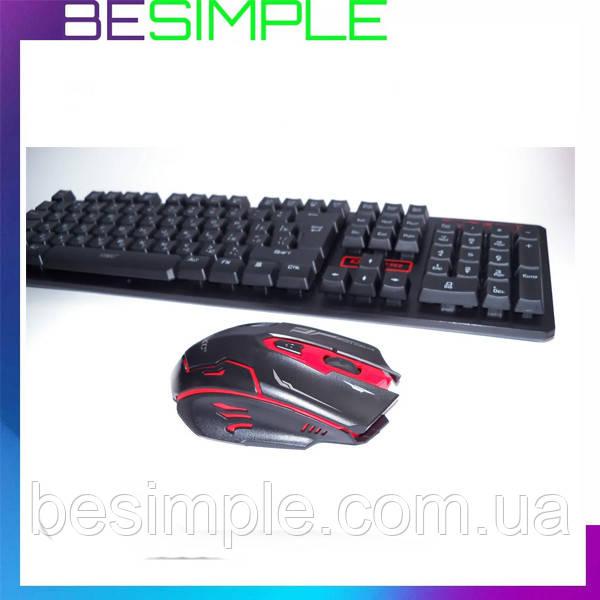 Беспроводная клавиатура и мышь, Клавиатура KEYBOARD HK 6500