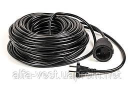 Подовжувач PowerPlant 30 м, 2x1.5мм2, 10А (JY-3021/30)