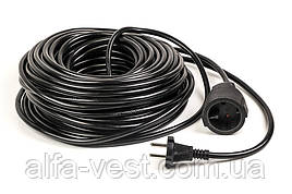 Подовжувач PowerPlant 50 м, 2x2.5мм2, 16А (JY-3021/50)